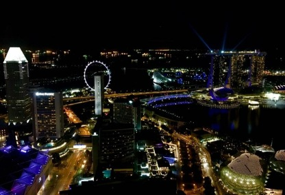 SG at night